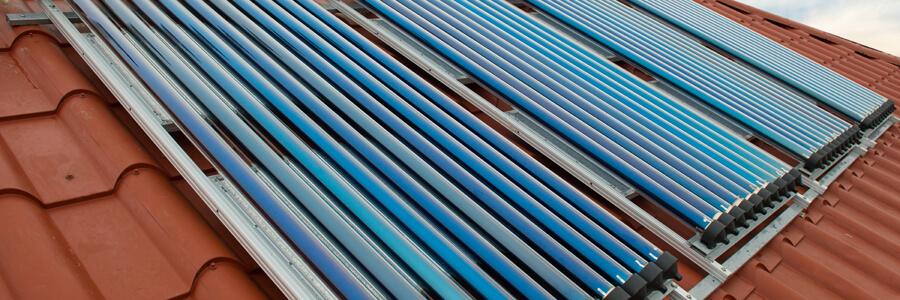 Solarthermie Haus Neubau